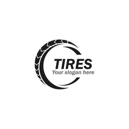 Tires illustration vector design