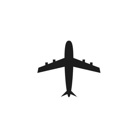 Plane Travel illustration vector template Ilustrace