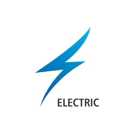 Lightning Logo Template vector flat design
