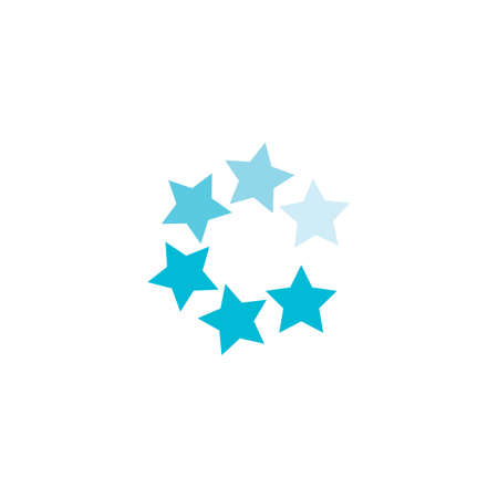 Star Logo Template vector icon illustration design Stok Fotoğraf - 157600398