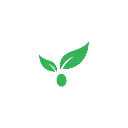 Green leaf illustration   vector design Stok Fotoğraf - 157847364