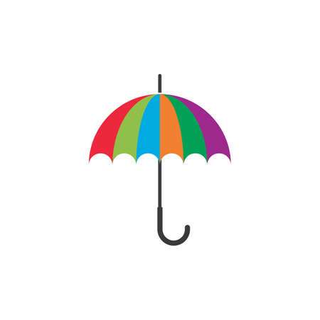 Umbrella illustration   concept vector template Stok Fotoğraf - 157847365