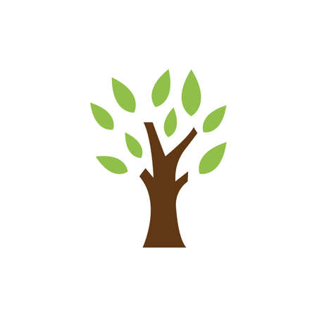 Tree illustration   template vector desin
