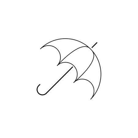 Umbrella illustration   concept vector template Stok Fotoğraf - 157847372