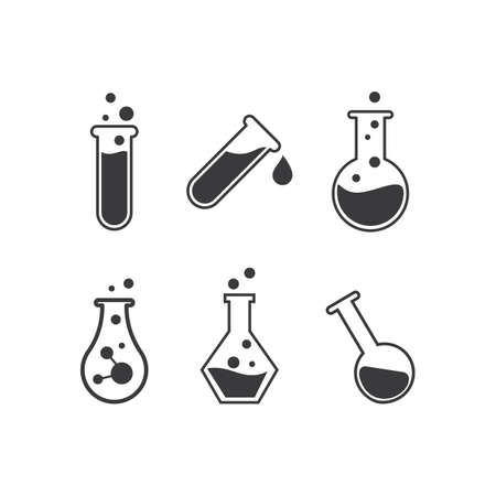 Lab icon illusttration vector flat design