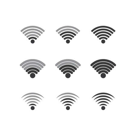 wireless Template vector illustration Vecteurs