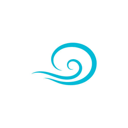 Natural Water wave design vector