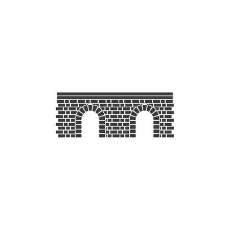 Wall bridge   illustration vector design