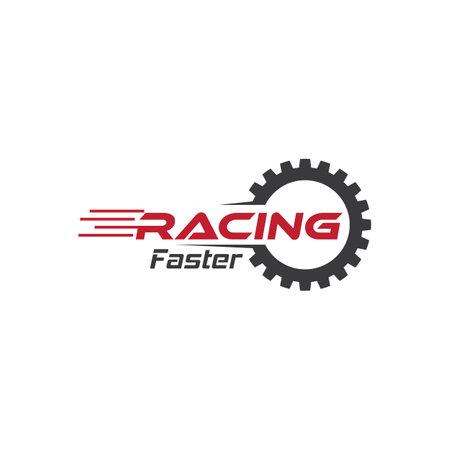 Speed racing   vector design