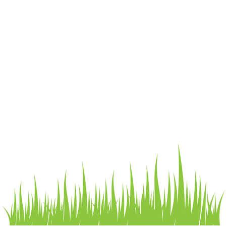 Green grass ilustration vector design 일러스트