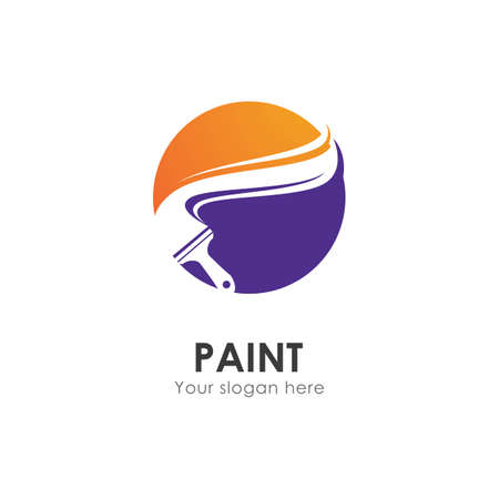 Paint House business vector template