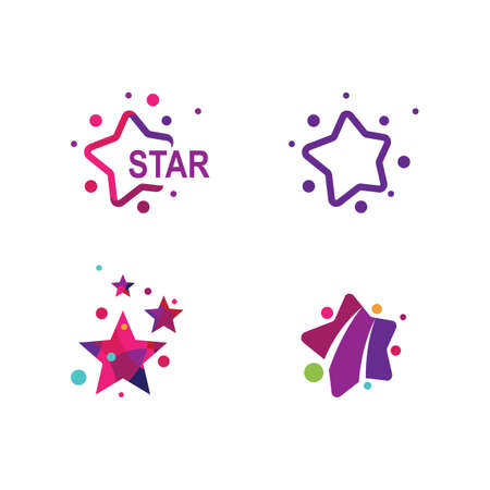 Star illustration vector design