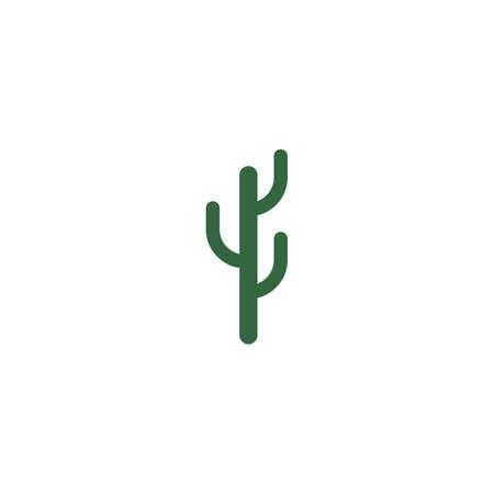 Cactus Logo template vector illustration