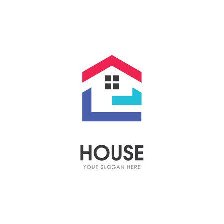 Home Property and construction logo design
