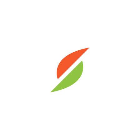 S letter logo design vector Stock Illustratie