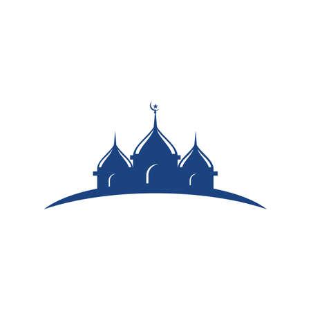 Islamic logo, Mosque,ramadhan kareem vector template Stock Illustratie