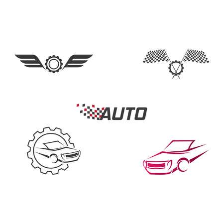 Auto car Logo template vector design