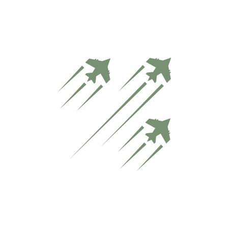 Air force plane military logo vector design Logo