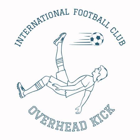 Emblem of soccer club.