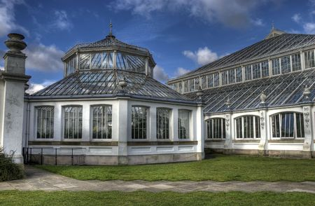temperate: Kew Temperate House Stock Photo
