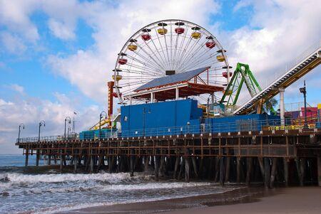 santa monica: Santa Monica Pier