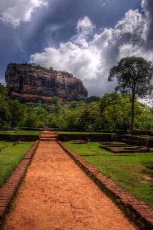 sigiriya: Sigiriya, Sri Lanka Stock Photo