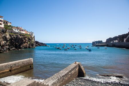 Harbor of Camara of Lobos, Madeira Island