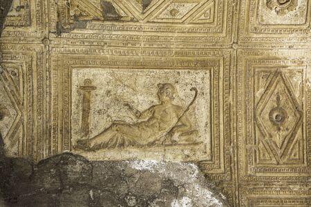Ruins of Herculaneum, Campania, Italy