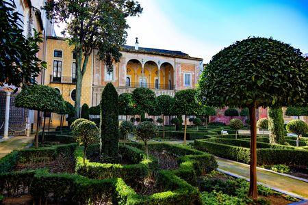 La casa del pilatos, Sevilla, Andalousie, Espagne / La casa del pilatos, Sevilla, Andalucía, España Foto de archivo