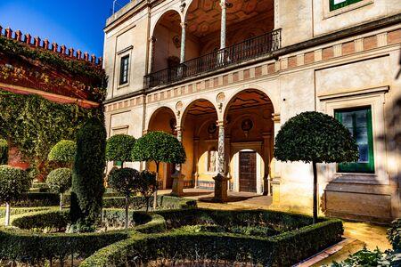 La casa del Pilatos, Séville, Andalousie, Espagne / La casa del Pilatos, Séville, Andalousie, Espagne Banque d'images