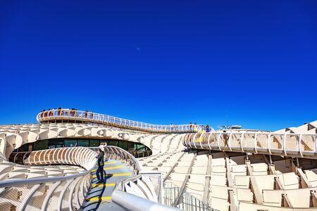 Metropol Parasol de Seville, Andalousie, Espagne / Metropol Parasol of Seville, Andalusia, Spain