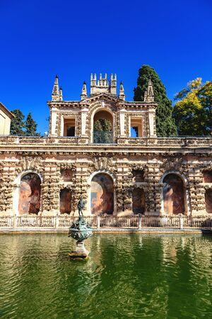 Real Alcázar de Seville, Andalousie, Espagne / Real Alcázar of Seville, Andalusia, Spain Foto de archivo