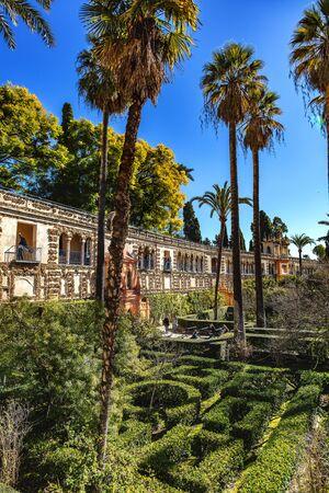Real Alcázar de Sevilla, Andalucía, España / Real Alcázar de Sevilla, Andalucía, España