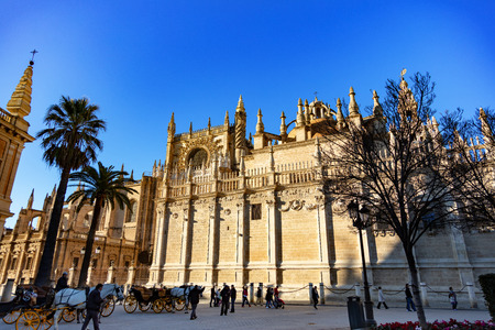 Cathédrale de Séville, Andalousie, Espagne / Cathédrale de Séville, Andalousie, Espagne Éditoriale