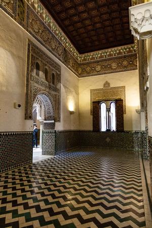 Real Alcázar de Séville, Andalousie, Espagne / Real Alcázar de Séville, Andalousie, Espagne Éditoriale