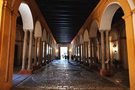 Entrée du Real Alcázar de Séville, Andalousie, Espagne / Entrée du Real Alcázar de Séville, Andalousie, Espagne Éditoriale