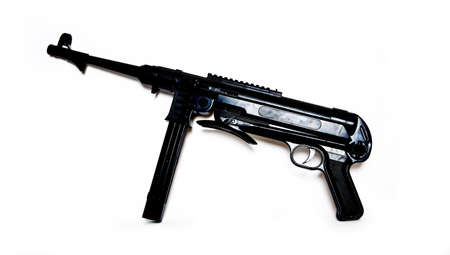 german handgun: MP40 submachine Stock Photo