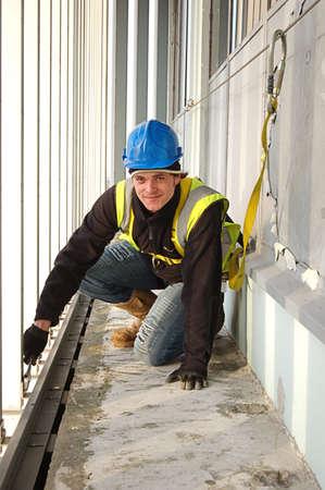 veiligheid bouw: Bouwvakker