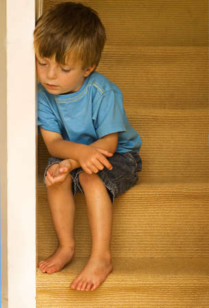 Impression  of a neglected child. Stock Photo - 3708587