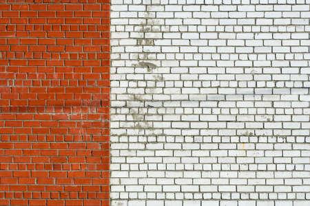 terminator: Color brick terminator on a wall.