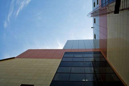 urbanistic: Urbanistic scene of modern city architecture.