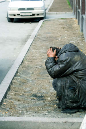 familiar: My familiar homeless tramp.