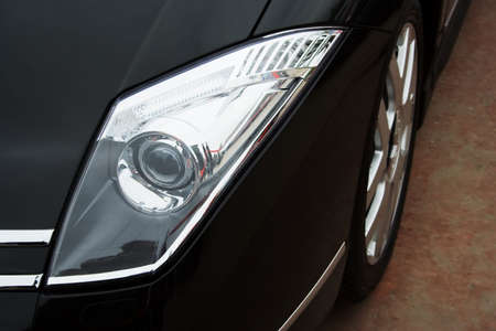 Headlight of the modern car. Stock Photo - 2374767