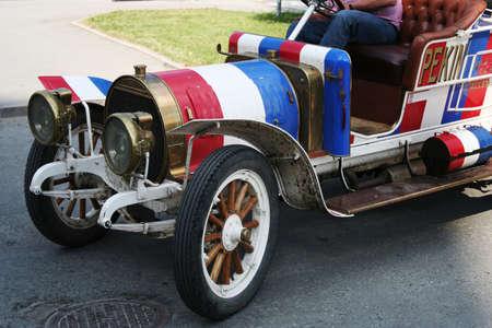 centenarian: Centenarian car. Stock Photo