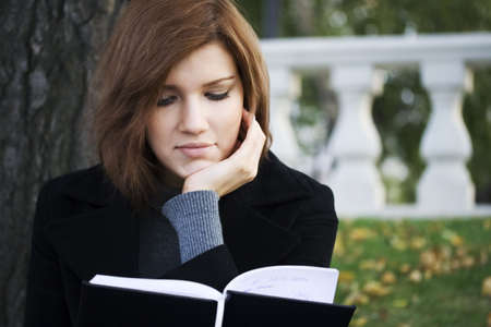 Girl and book. Stock Photo - 3813695