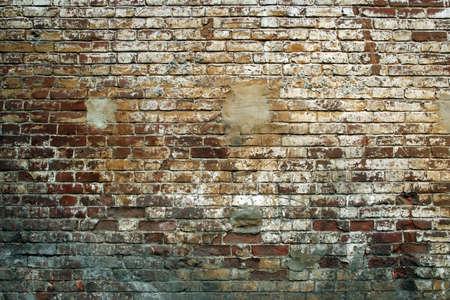 Grunge pared de ladrillo.