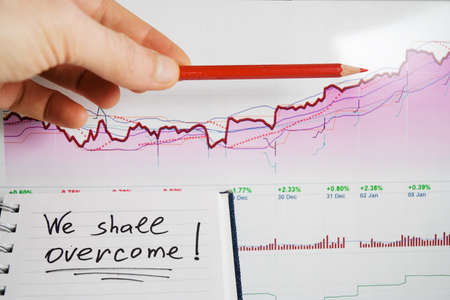 market trends: Successful growth of stock market trends.