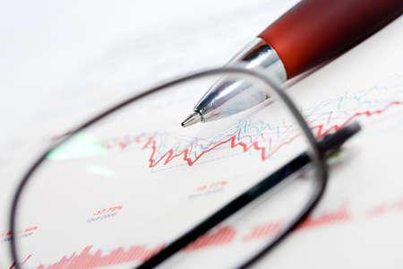 future earnings: Stock exchange reports.