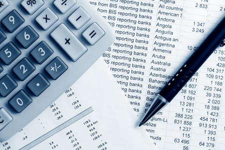 Financial accounting. photo