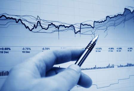 La din�mica del mercado de valores.